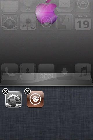 Black X App Switcher Icons