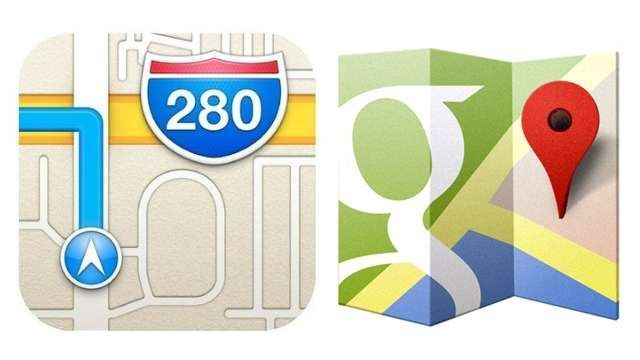 Google-Maps-Apple-Maps-icons